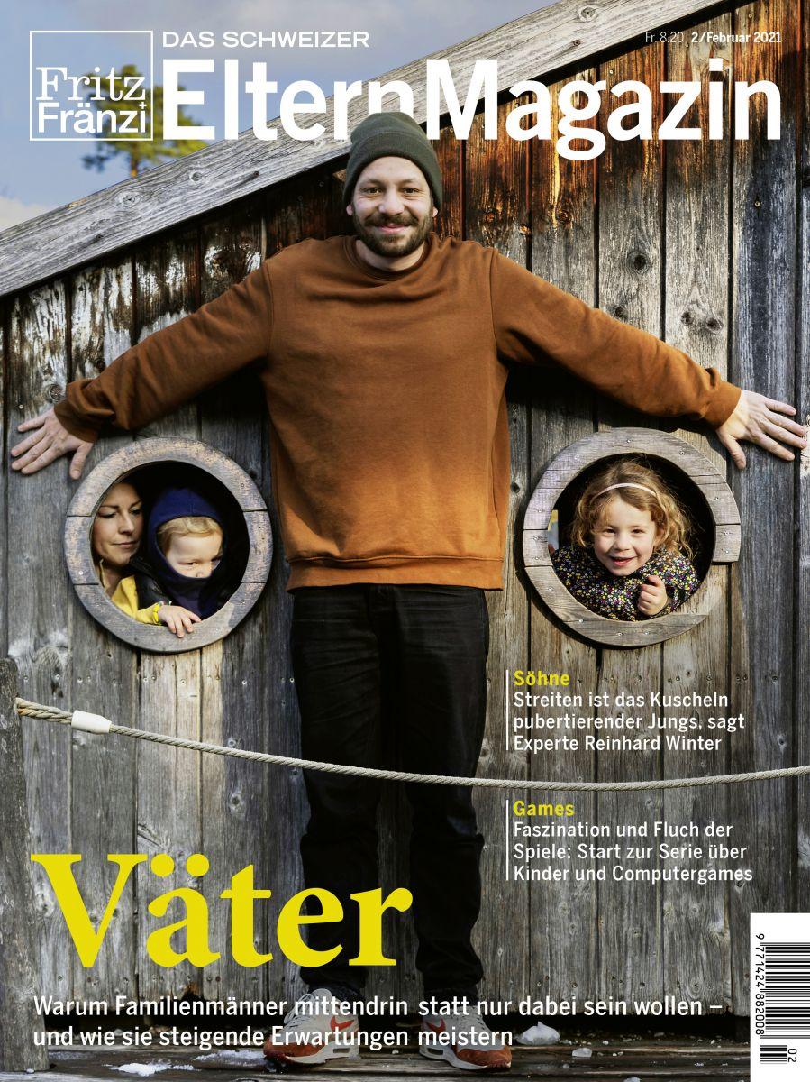 Fritz und Fränzi Eltern Magazin 02/2021 Cover