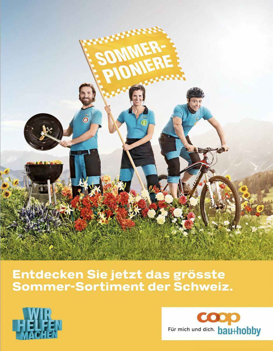 Havas Die Sommerpioniere Im Einsatz Werbung