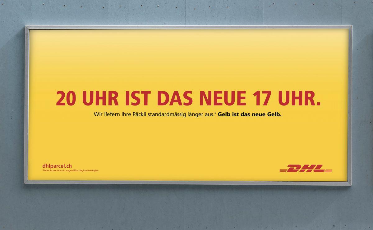 Serviceplan Suisse Bei Dhl Geht Die Post Ab Werbung