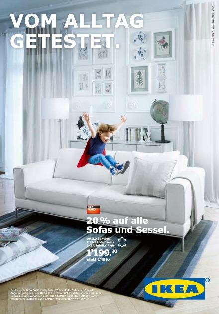 Wirz Ikea Sofa Im Härtetest Werbung