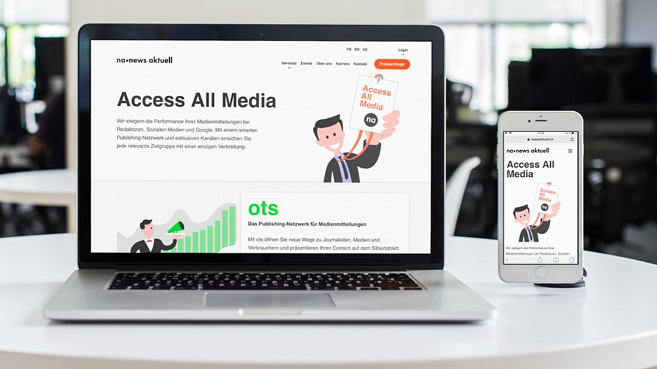 News aktuell: Neue Webseite relauncht