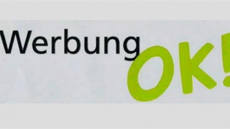 Werbung Im Briefkasten Post Verschickt Werbung Ok Kleber