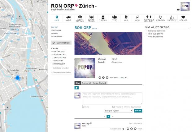 Ron orp partnersuche